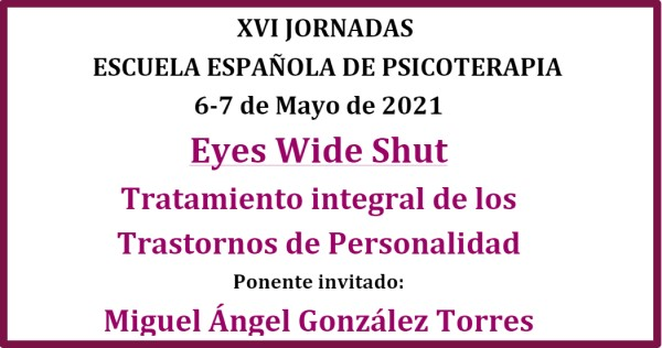 Jornadas escuela española psicoterapia
